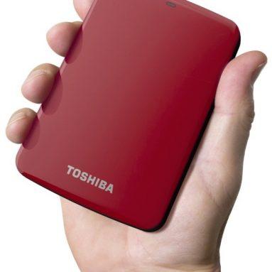 Toshiba Canvio Connect 2TB Portable Hard Drive
