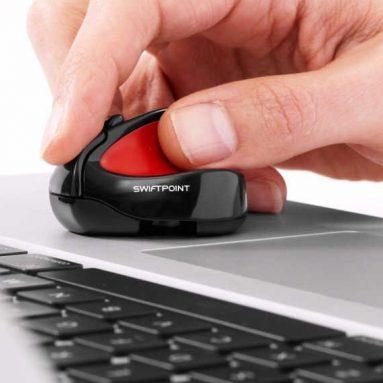 Swiftpoint/Wireless/Rechargeable/Ergo