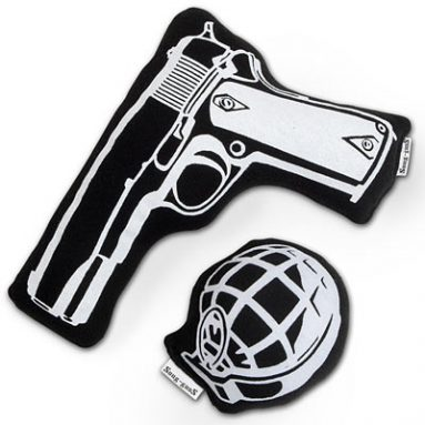 Plush Gun & Grenade