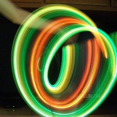 LED Orbit Flow Toys – Light Show Orbital Flow Light
