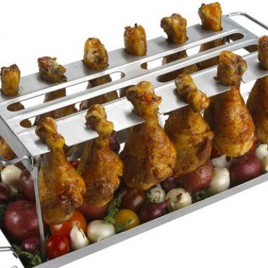Grilled Chicken Wings WingRack