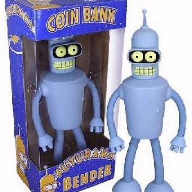 Bender Coin Bank