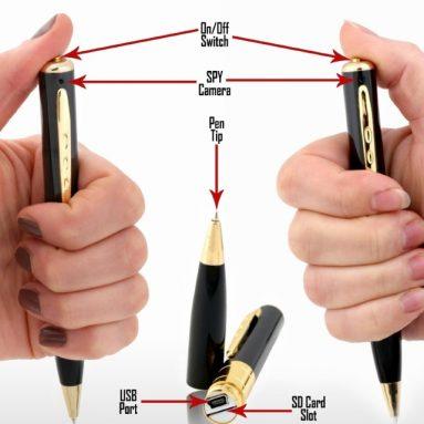 Spy Pen Camera & Tiny DVR