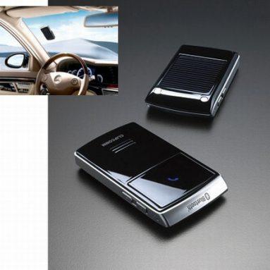 Solar Powered Bluetooth Handsfree Car Kit