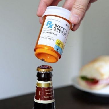 Prescription Beer Bottle Opener