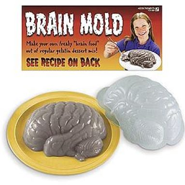 BRAIN JELLO MOLD
