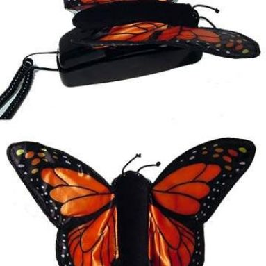 Butterfly Corded Telephone