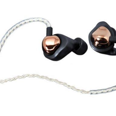 Rose Gold In-Ear Monitor Earphones