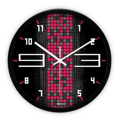 Modern Contemporary Black Frame Fun Clock