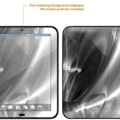 Matte Protective Decal Skin skins Sticker for HP TouchPad