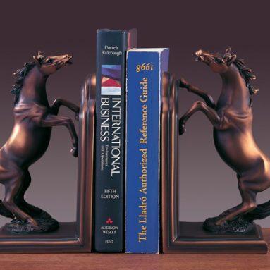 Bookends Set Horse