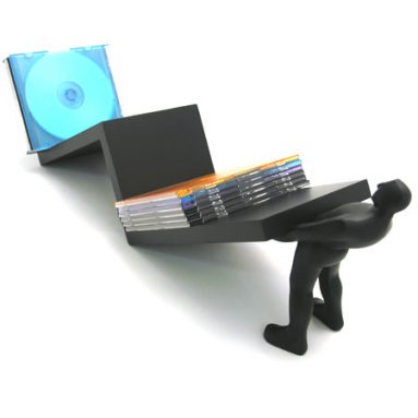 Zig Zag CD Holder