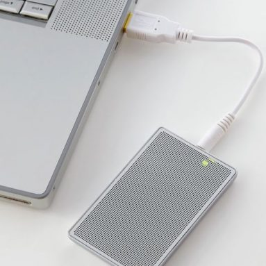 Rechargeable USB Card Speaker