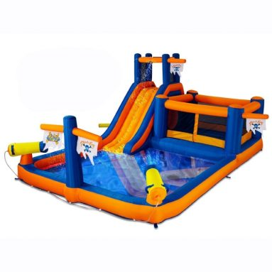 Pirate Bay Inflatable Water Park