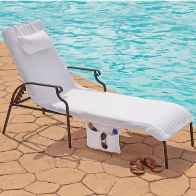 The Turkish Cotton Chaise Lounge Cover