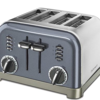 2-Slice/4-Slice Metal Classic Toaster