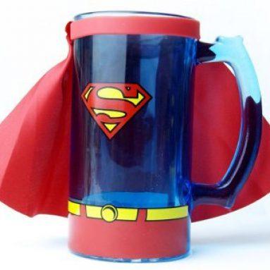 Superman Beer Mug Stein