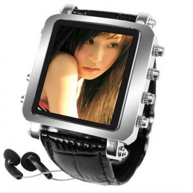 Metallic Watch MP4 Player