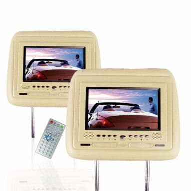 Car Headrest DVD Player – TV