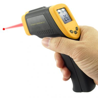 Infrared Digital Thermometer Gun with Laser Sight