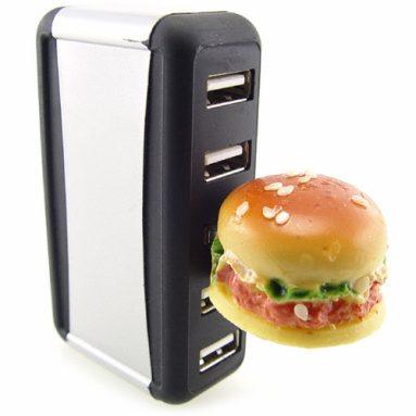 Hamburger Flash Memory Drive