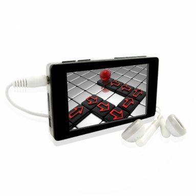 Glossy Black LCD MP4 Player