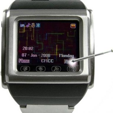 Mind Blowing Cell Phone Watch