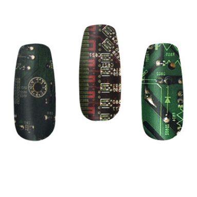Circuit Nail Art
