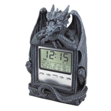 Dragon LCD Alarm Clock