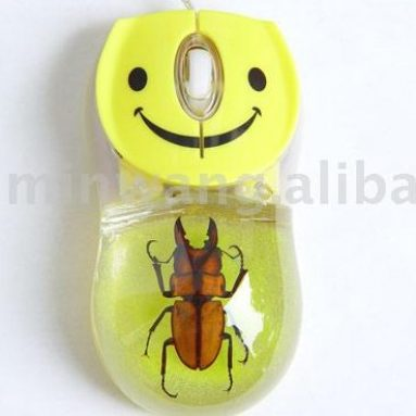 Insect computer mouse