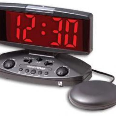 CLEARSOUNDS CS-WS1-ANT ALARM W/ BED SHAKER