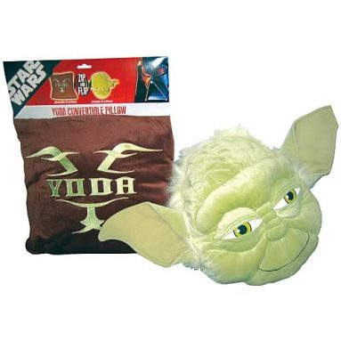 Star Wars Yoda Pillow