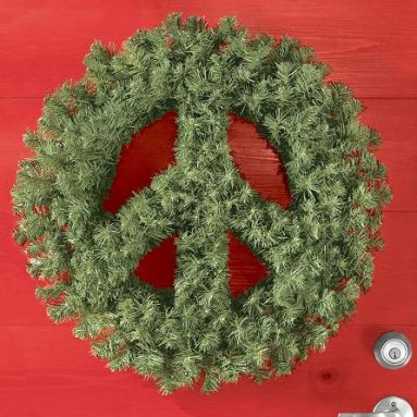 for peace wreath