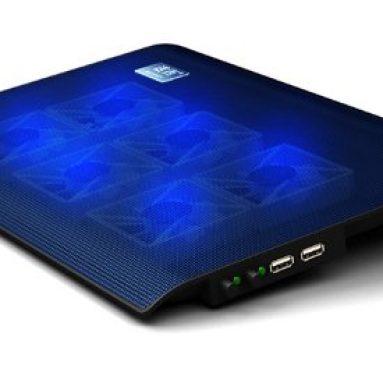 6 Fans Blue LED 14″ Laptop USB Cooling pad