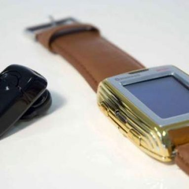 Mobile phone watch M500