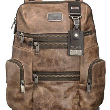 Alpha Bravo Knox Leather Backpack