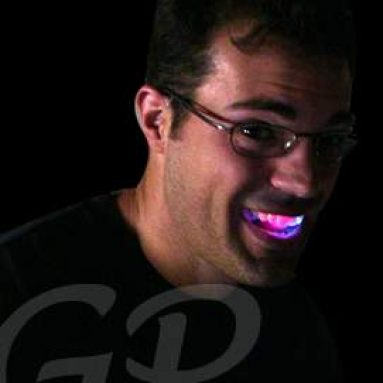 Light Up LED Flashing Teeth