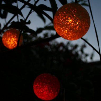 Luminous Glow Colored Solar String Light