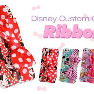 Disney Custom Cover Ribbon iPhone 5 Case