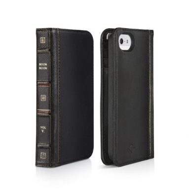 Vintage leather iPhone 5 case and wallet
