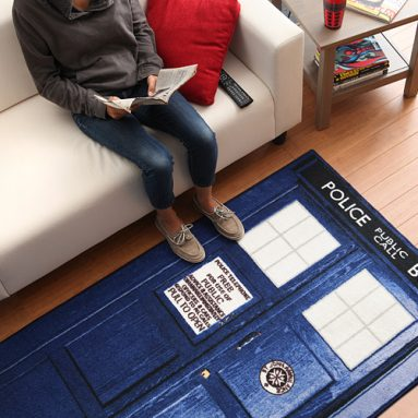 Doctor Who TARDIS Rugs