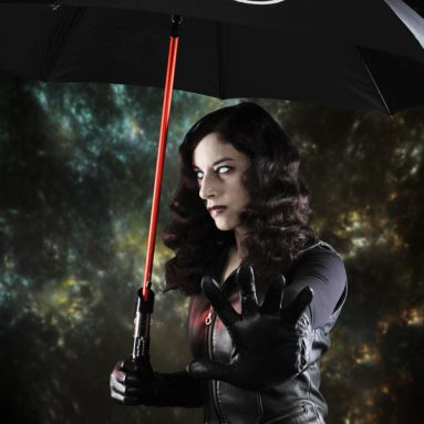 Star Wars Lightsaber Umbrellas