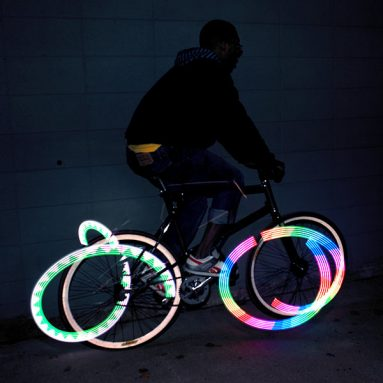 Monkey Light 8-Bit Bike Wheel Light