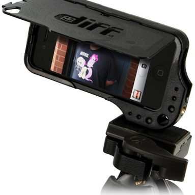DiffCase iPhone 4/4S Case with Tripod Mounts