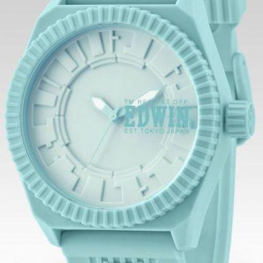 EDWIN clonED Turquoise Analogue Watch
