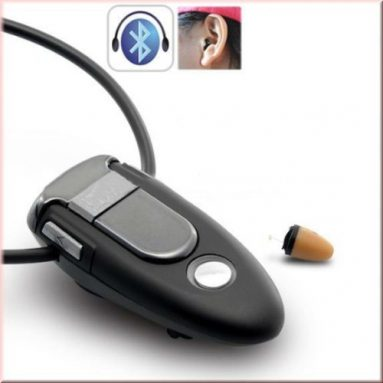 Invisible Wireless Bluetooth Earpiece Gsm Covert Earphone