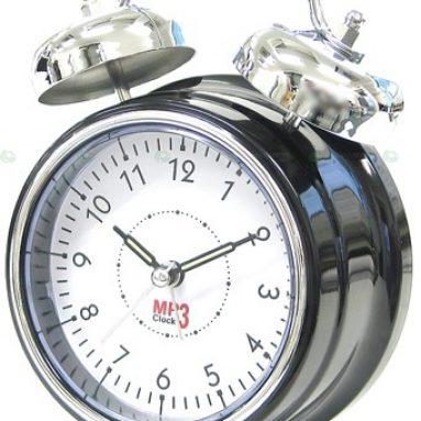 USB Retro MP3 Alarm Clock