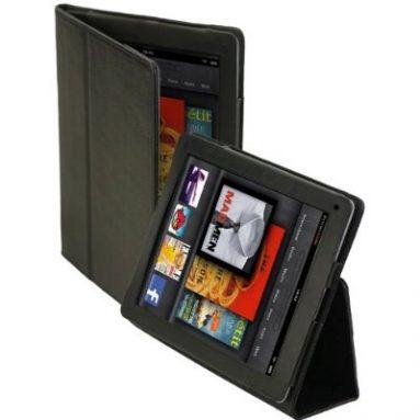 SAFARI Slim-Profile Leather Case Cover for Amazon Kindle FIRE