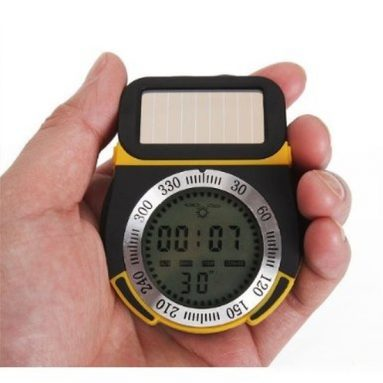 Solar Compass Altimeter Barometer Thermometer Weather
