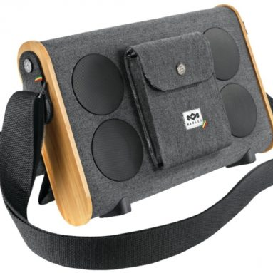 Roots Rock Bluetooth Midnight Portable Audio System